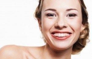 Invisalign braces patient with improving smile